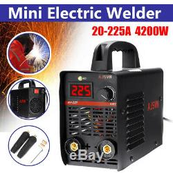 220V 4200W 20-225A MMA Handheld IGBT Inverter Electric ARC Welding Machine Tool