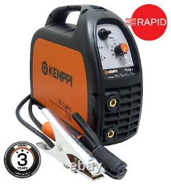 Arc Welder Kemppi Minarc150 Package with 3m Arc Cable Set, 230v, 3 Year Warranty