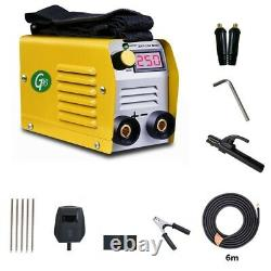 Household 20-250A IGBT DC Inverter ARC Welder Kit Low alloy steel High Frequency