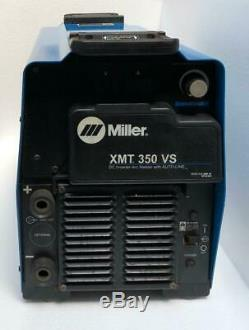 Miller Xmt 350 Vs DC Inverter Arc Welder With Auto-line 208-575v (for Parts) 2