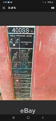 PowCon 400 SS Welder. It does mig, tig, and stick (ARC)